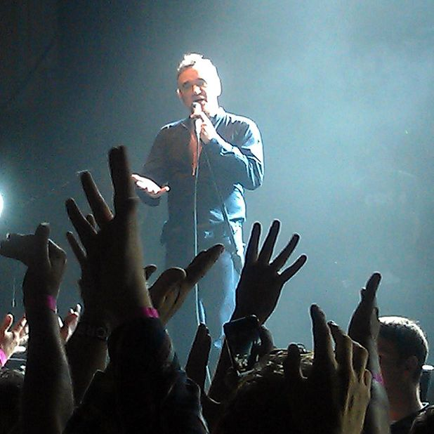 Morrissey - Usher Hall, Edinburgh, Mon 30 Jul 2012