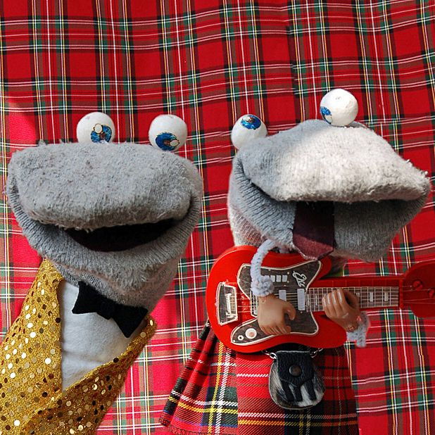 The Scottish Falsetto Sock Puppets