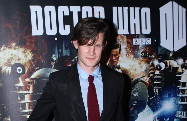 Matt Smith at Asylum of the Daleks screening