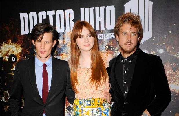 Matt, Karen and Arthur at screening