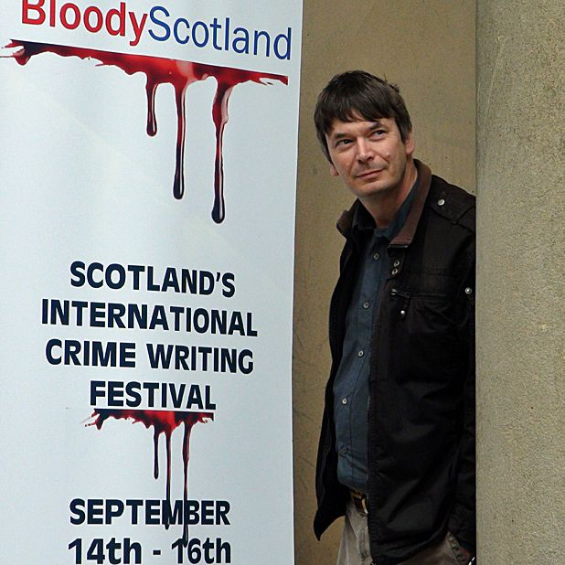 Ian Rankin to lead workshops at Bloody Scotland 2012