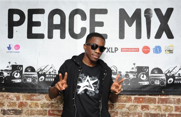 Tinchy Stryder at Peace Mix