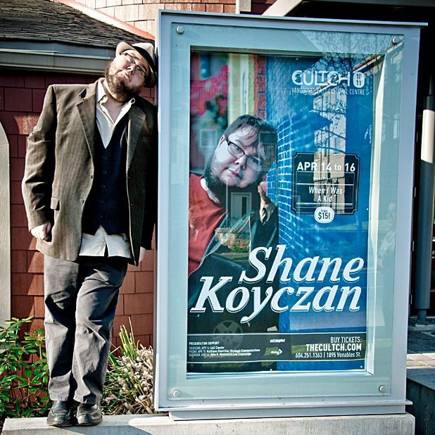 Shane Koyczan: Talk-Rocker