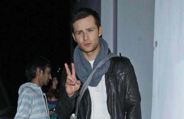 Last year's winner Harry Judd
