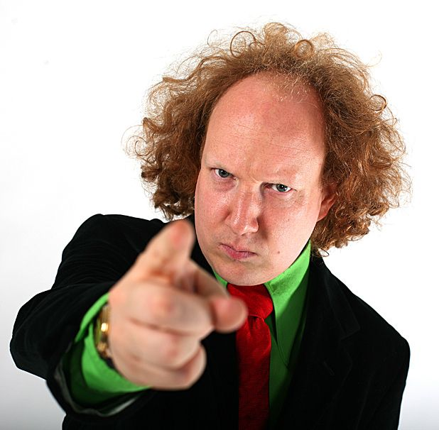 Satirical comedian Andy Zaltzman shares a few of his comedy heroes