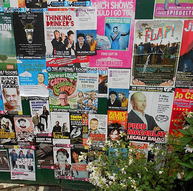Star Appeal: A look at reviewing trends at Edinburgh Festivals 2012
