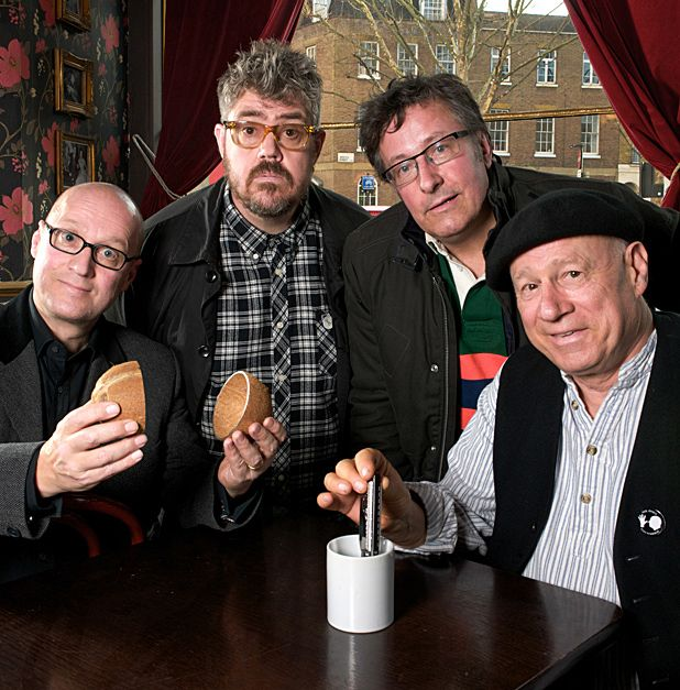 Adrian Edmondson, Phill Jupitus and Neil Innes discuss the Idiot Bastard Band