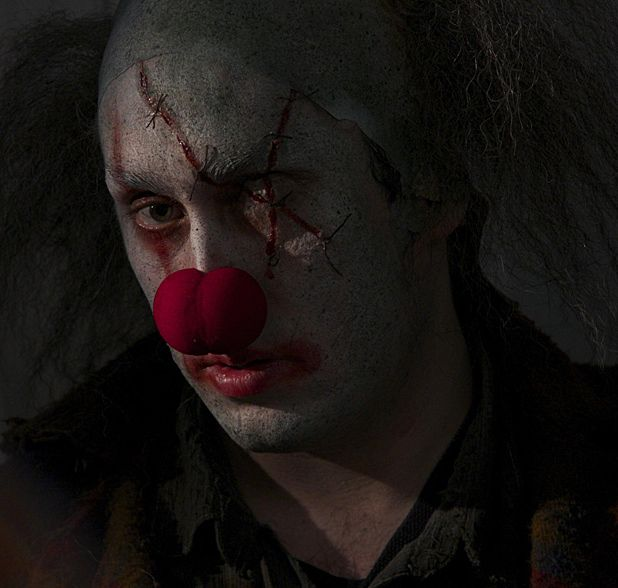 Ross Noble stars in killer clown comedy-horror Stitches - interview