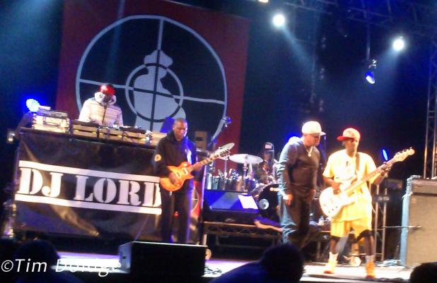Public Enemy on stage in London