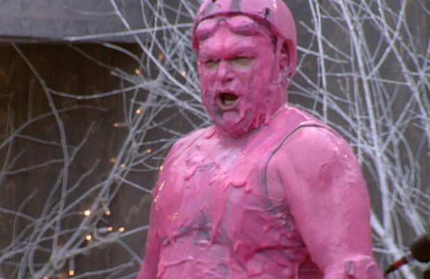 Celebrity big brother gunging women