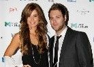 Brian McFadden and his wife Vogue Williams