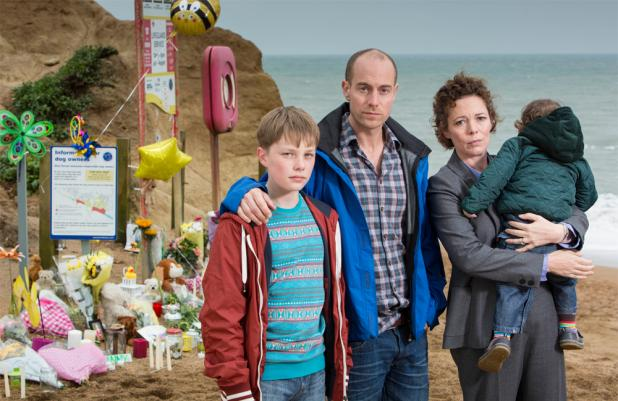 Broadchurch's Tom, Joe and Ellie Miller