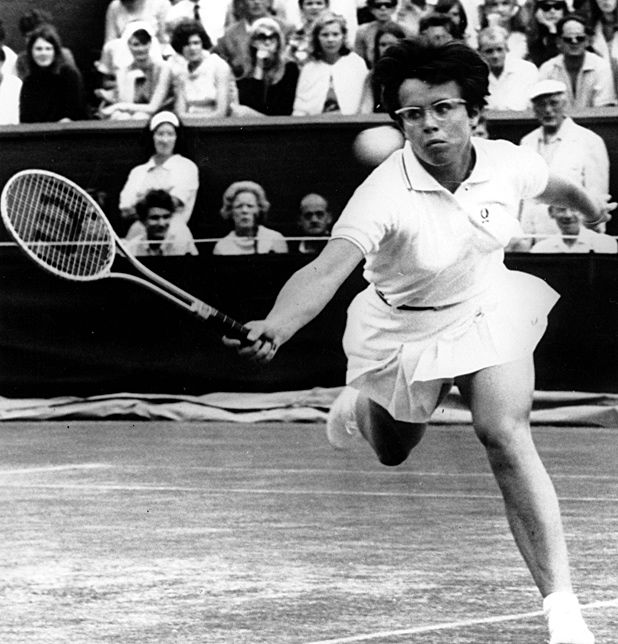 """the battle of the sexes That's one of the durable truisms of """"battle of the sexes,"""" a glib, enjoyable fictionalization of the 1973 exhibition tennis match between billie jean king and bobby riggs."""