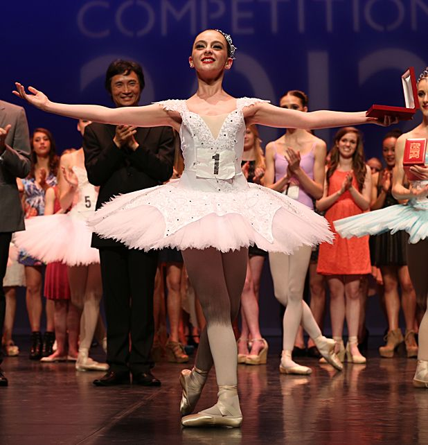 The Genée International Ballet Competition to be held in Scotland for the first time in 2013