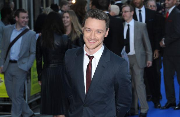 James McAvoy at Filth premiere