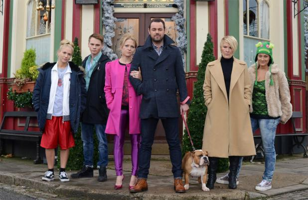 Danny Dyer's EastEnders family