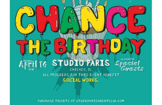Chance the Rapper's Birthday Bash Sells Out