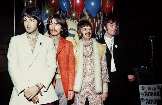 The Beatles opening Sgt. Pepper's pop-up shop in Liverpool