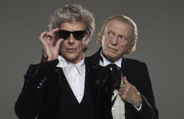 First and Twelfth Time Lords to Join Forces This Year
