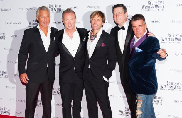 Only when you leave: Tony Hadley quits Spandau Ballet
