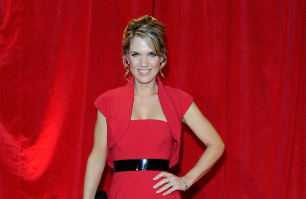 Charlotte Hawkins high-kicks her way onto Strictly