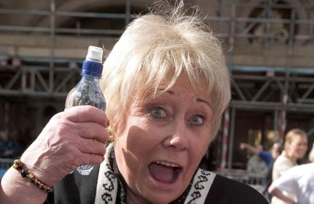 Corrie's Liz Dawn is 'rushed to hospital' with lung condition