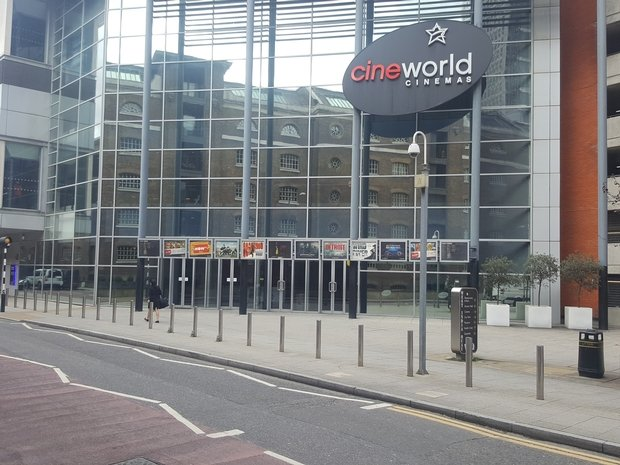 Cineworld West India Quay Hertsmere Road West India Quay