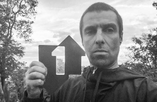 Liam Gallagher tops Official Albums Chart