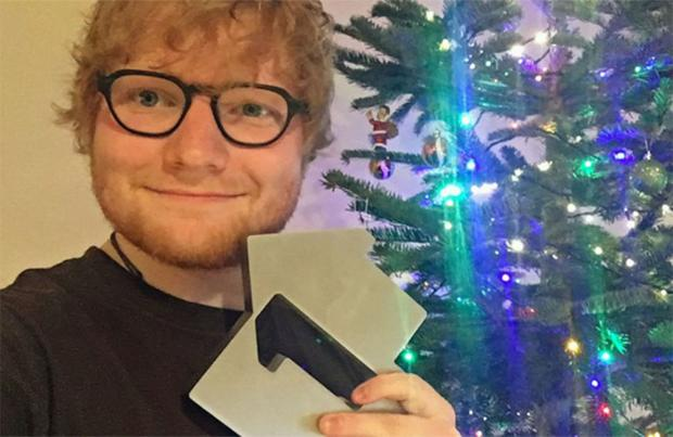 Ed Sheeran Christmas number one for 2017