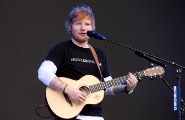 Ed Sheeran recruits Bruno Mars and Chris Stapleton in new single