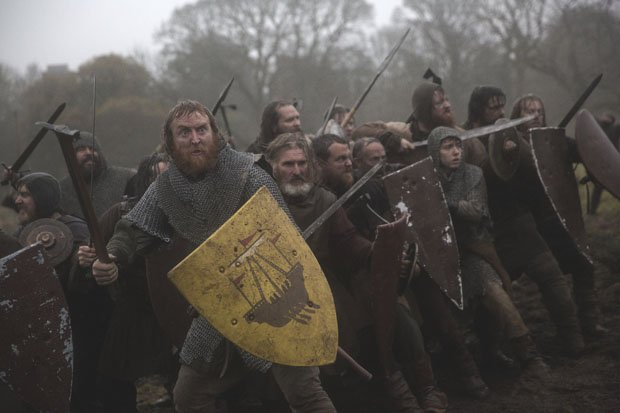 Tony Curran on Outlaw King: 'Apparently a little known man called Stephen King tweeted about it!'
