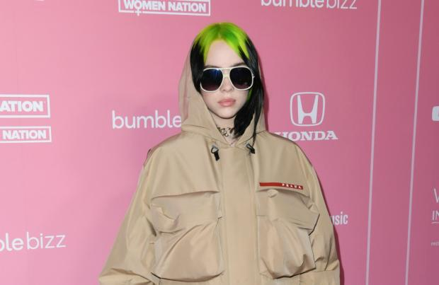 Billie Eilish honours women in music industry