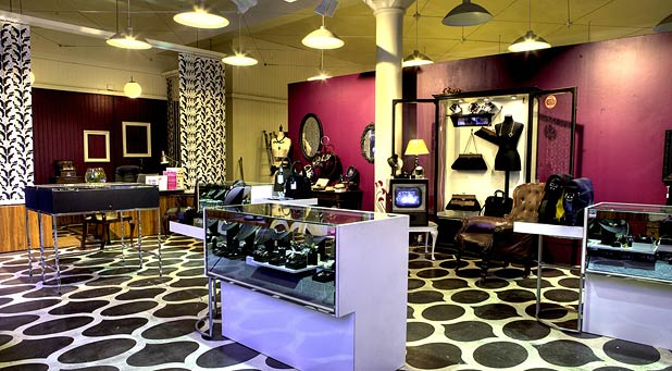 ... this one the high concept interiors of this merchant city jewellery