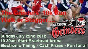 The Glasgow Grinders' 10k Fun Run