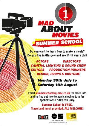 GMAC Summer School – Mad About Movies