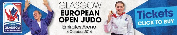 Glasgow European Open Judo