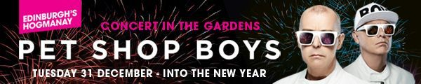 Edinburgh's Hogmanay - Pet Shop Boys