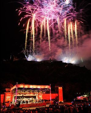 Virgin Money Fireworks Concert