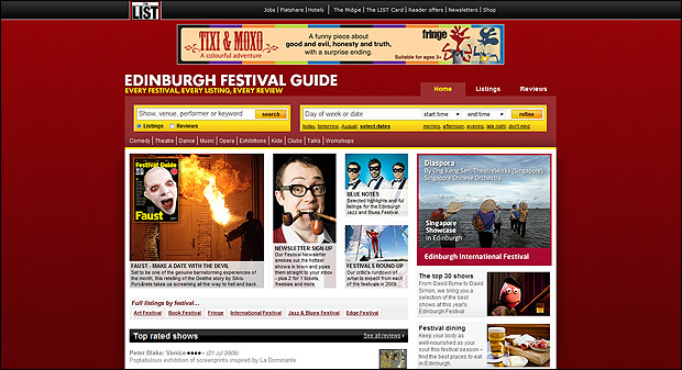 Edinburgh Festival Guide